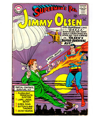 Superman's Pal JIMMY OLSEN #89 in FN condition a 1965 DC Silver Age comic
