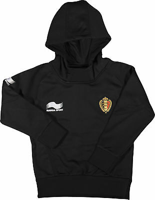Burrda Sport Belgium 2014/15 Junior Training Hoody - Black