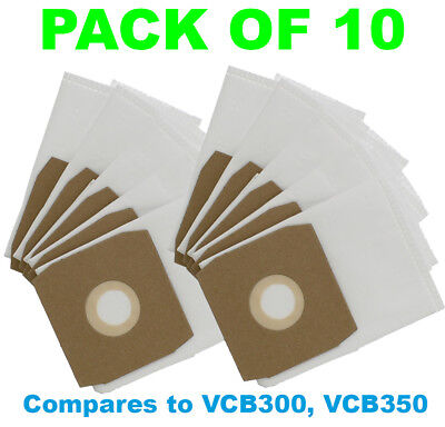 DAEWOO Fortis RC300 RC3006B RC300A RC305 RC310 Vacuum Cleaner Bags - Pack of 10