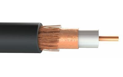 HYCF100 Coaxial Cable, Black, 50m - CONCORDIA TECHNOLOGIES