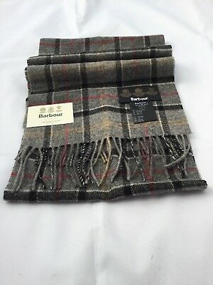 Brand New and Latest Barbour 100% Luxury Lambswool Scarf