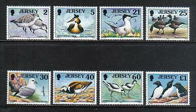 Jersey 1998 Local Birds--Attractive Topical (825-32) MNH