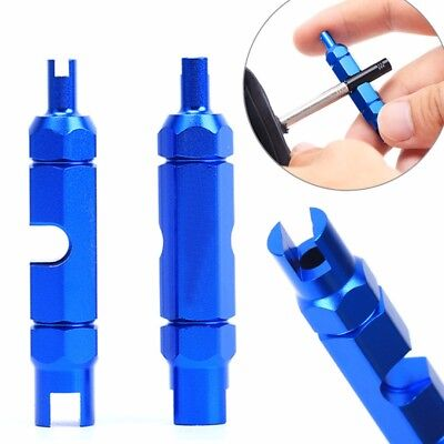MTB Road Bike Bicycle Schrader Presta Valve Core Removal Tool Wrench Screwdriver