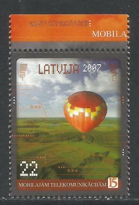 Latvia 2007 Mobile Telecommunications--Attractive Topical (669) MNH