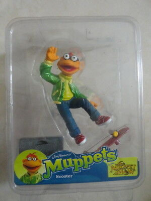 Muppets Palisades mini Scooter 3-inch figure RARE FREE SHIP