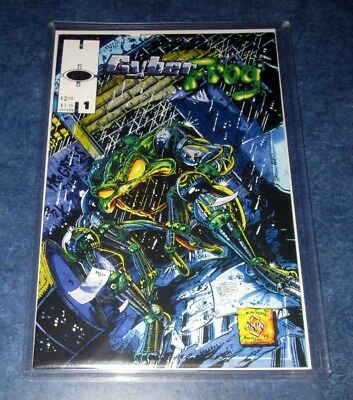 CYBERFROG #1 1st print HALL OF HEROES 1994 HIGH GRADE NM ETHAN VAN SCIVER HOT