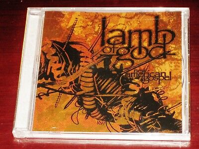 Lamb Of God: New American Gospel CD ECD 2006 Bonus Tracks Prosthetic USA NEW