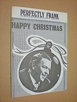 PERFECTLY FRANK. JOURNAL OF THE SINATRA MUSIC SOCIETY. No.140. 1976