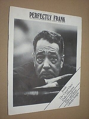 PERFECTLY FRANK. JOURNAL OF THE SINATRA MUSIC SOCIETY. No.143. 1977