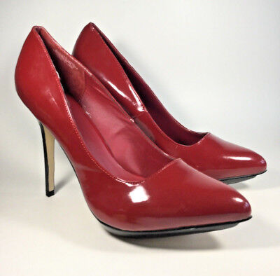 ee6574b2f6c NIB Jessica Simpson Belemo Pump in Red Mousse Suede Women s Shoes