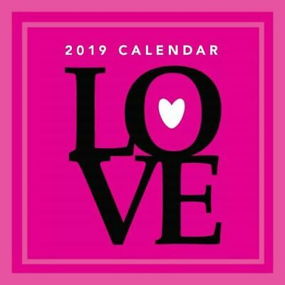 NEW Love 2019 Square Wall Calendar Wall Calendar Free Shipping