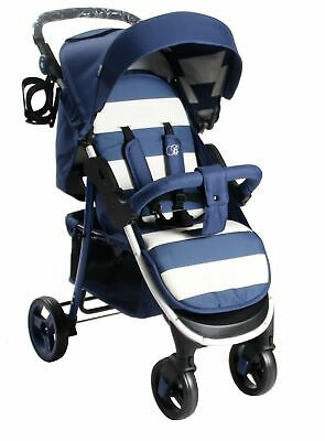 My Babiie Billie Faiers MB30 Blue Stripe Pushchair