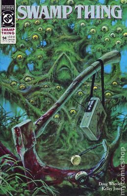 Swamp Thing (2nd Series) #94 1990 VF Stock Image