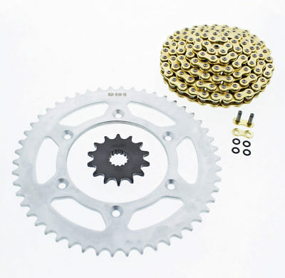 2004-2007 KTM 450 EXC 450 CZ ORHG Gold X Ring Chain And Sprocket 14/50 120L