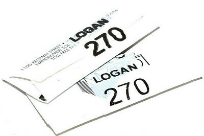 Logan 270 Cutter Blades Pack Of 20 - 2000 424 301-1 450 Mount Cutter Frames