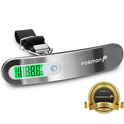 Portable Travel 110lb / 50kg LCD Digital Hanging Luggage Scale Electronic Weight