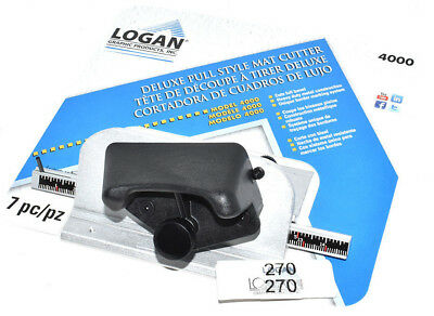 Logan 4000 Pull Style Handheld Mat Mount Cutter Bevel Frame Mounting Cutters