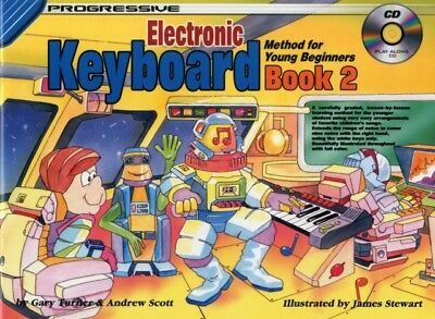 Progressive Keyboard Method for Young Beginners: Book 2 / CD Pack...
