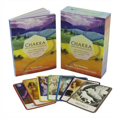 Chakra Wisdom Oracle Cards: The Complete Spiritual Toolkit for Tr...