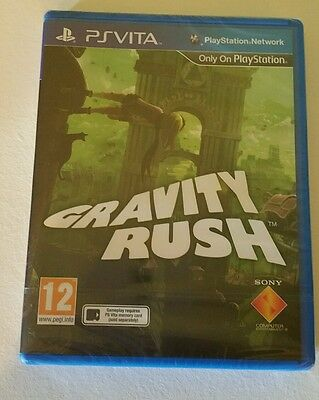 GRAVITY RUSH PSV RARE Game  BARGAIN UK PAL Game Sony PlayStation Vita PS Vita