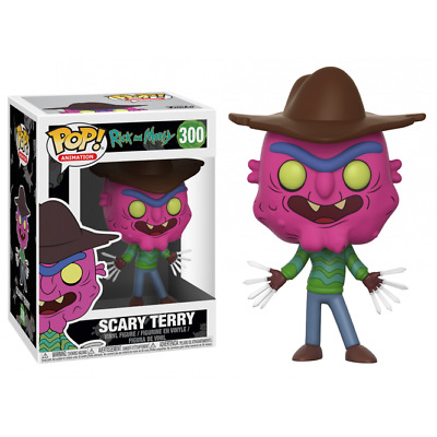 Funko Pop Rick And Morty 300 Scary Terry Vinyl Figure Figurine