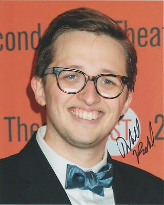 WILL ROLAND-ACTOR=(DEAR EVAN HANSEN--BE MORE CHILL BROADWAY)-signed  Photo 8x10