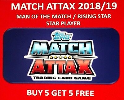 Match Attax 18 19 Choose Any Man Of The Match 2018 2019 Attack