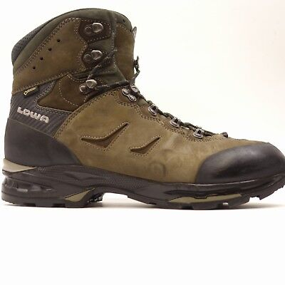 14cd46c7e5d2 Lowa Mens Camino GTX Brown Waterproof Leather Hiking Outdoor Mid Boots Size  11.5