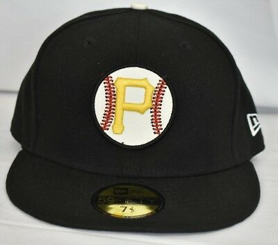 84b5f96a New Era 59Fifty Mens MLB Pittsburgh Pirates Fitted Hat Cap NWT Pick Size