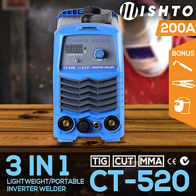 NEW Mishto CT-520 DC TIG ARC Plasma Cutter Portable Inverter Welder Welding