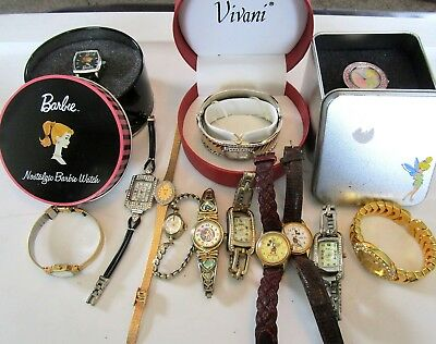 Great Lot of Vintage Watches DISNEY