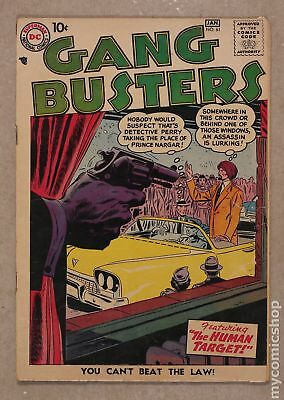 Gang Busters #61 1958 GD+ 2.5