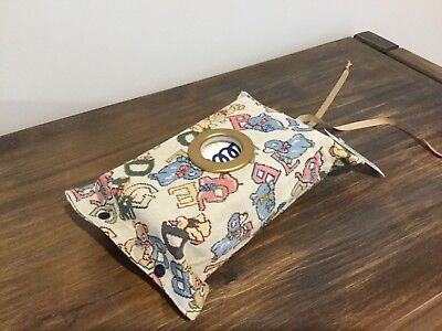 Tissue Box Cover To Hang In The Car Or On The Door Knob With A Circle Opening(3)