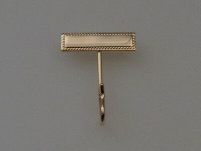 WHISTLE HOOK Gold-tone police/fire/ems/military uniform