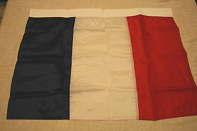 """24"""" x 36"""" FRENCH FLAG-COUNTRY OF FRANCE WITH PASS-THROUGH TOP SLEEVE-BRAND NEW"""