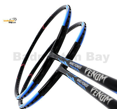 Crazy Fast racket!! ABROZ VENOM BADMINTON RACKET