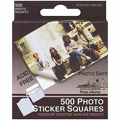 Pioneer Photo Albums Psm500 Photo Album Sticker Squares 500 Count - Pkgwhite