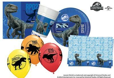Jurassic World Fallen Kingdom Party Pack for 8, 16 & 24