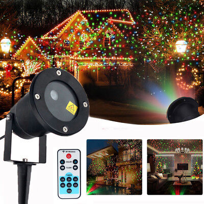 Christmas Star Laser Projector Shower Light LED MOTION Outdoor Landscape Lamp