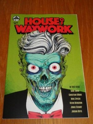 House Of Waxwork #1 Waxwork Comics 2017