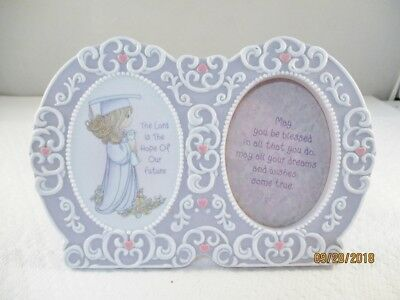 """Precious Moments 'The Lord is The Hope Of Our Future""""  Picture/Photo Frame"""