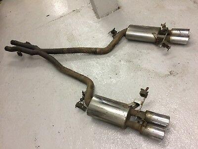 Hartge Cat-Back Exhaust System BMW E60 M5; X-Pipe and Silencers