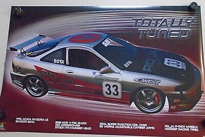 96 ACURA Integra LS #976 / Orig. Vintage poster / Exc. New cond.- 22 x 34""