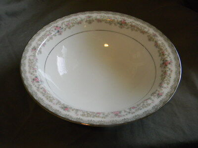 Noritake China - 10 Inch Oval Vegetable Bowl - Edgewood Pattern.  Number 5807