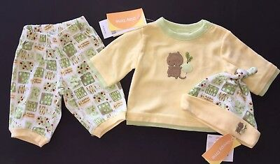 NWT Gymboree How Does Your Garden Grow Up to 7 lbs Vegetable Footy Sleeper /& Hat