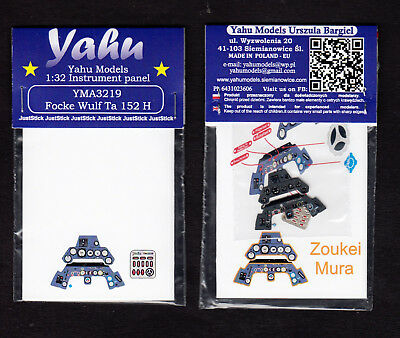 yma3219/ YAHU Models - Tank Ta-152H - Instrument panel - 1/32
