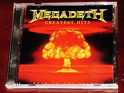 Megadeth: Greatest Hits CD 2005 Best Of EMI, Capitol Records USA 72438-73929-2-2