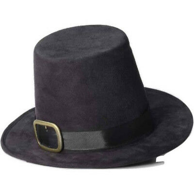 0371aa319af SUPER DELUXE BLACK Pilgrim Hat Costume Accessory -  27.99