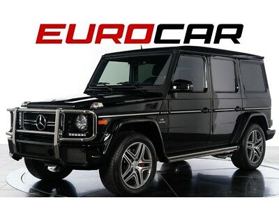 G-Class G63 AMG 2016 Mercedes-Benz G63 AMG Automatic 4-Door SUV