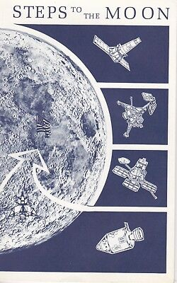 Steps to the Moon 36-page 6 x 9 in. booklet, Department of the Interior, 1972